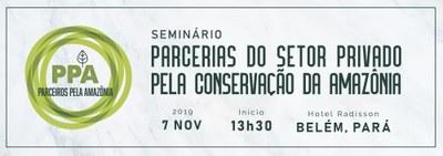 Seminário Parcerias do Setor Privado pela conservação da Amazônia