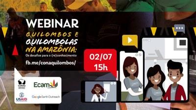 Webinar quilombos e quilombolas na Amazônia