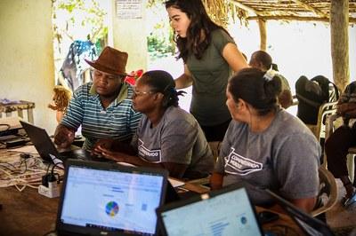 Comunidade quilombola do Mato Grosso analisa dados de pesquisa
