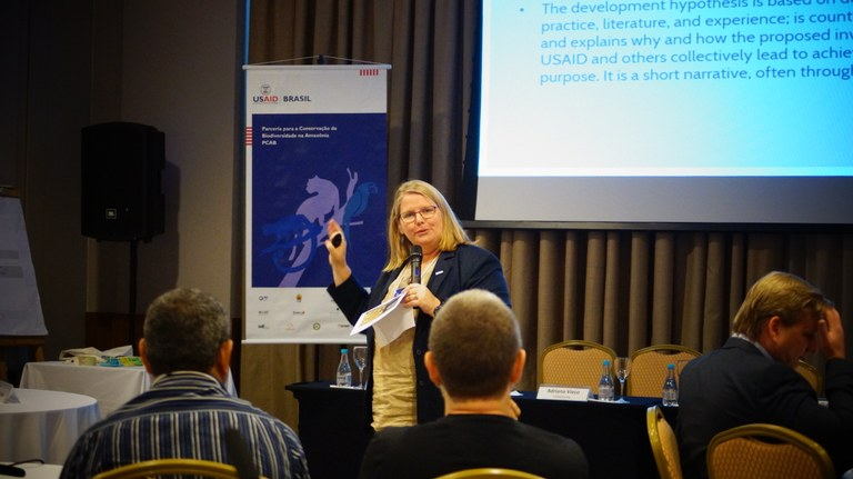 Diretora de Meio Ambiente da USAID/Brasil, Anna Tonnes. Foto: USAID