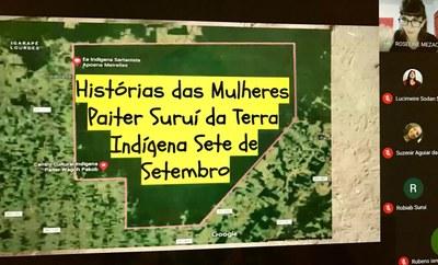 Indígenas Paiter Suruí de Rondônia participam pela primeira vez de programa de formação totalmente online