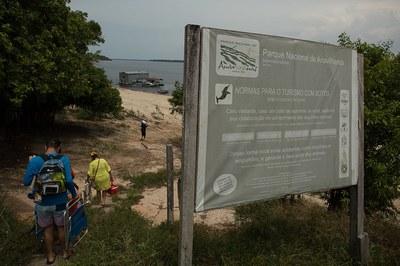 Parque Nacional próximo a Manaus procura uma melhor conexão com a sociedade através de materiais interpretativos